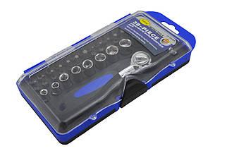 Набор торцевых головок и отвёрточных бит Jinfeng JF-90266 синий (45193)