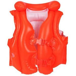 Надувной жилет Intex 58671 оранжевый (45253)