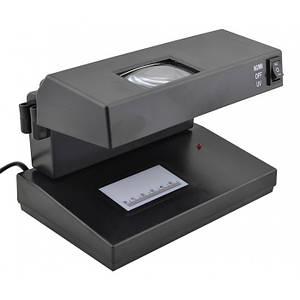 Детектор валют UKC AD-2138 черный (45795)