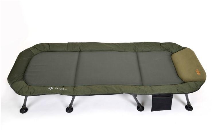 Розкладушка-ліжко коропова для риболовлі Elektrostatyk, посилена рама