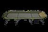 Розкладушка-ліжко коропова для риболовлі Elektrostatyk, посилена рама, фото 3