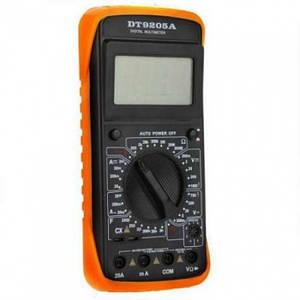 Професійний мультиметр ТРМ DT-9205A чорний (44408)
