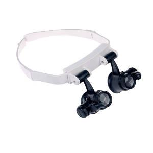 Бінокулярні окуляри з LED підсвічуванням ТРМ TH-9202 чорний (46282)