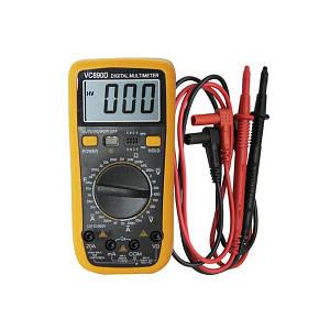 Професійний мультиметр ТРМ VC890D жовтий (45204)