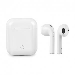 Бездротові навушники c боксом iFans i8S TWS Білі (IM 46478)