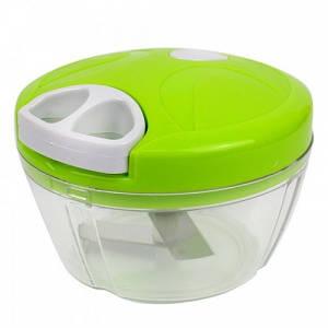 Универсальный измельчитель овощей Nicer Dicer Plus Speedy Chopper чоппер зелёный (IM 46471)