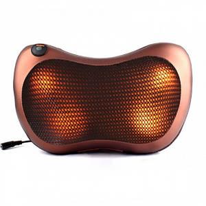Масажер, масажна подушка для будинку і машини Massage pillow CHM-8028 Spartak (IM 46477)