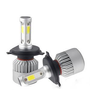 Комплект 2шт светодиодных автомобильных ламп LED S2 H7 4Drive