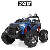 Электромобиль детский джип Monster Truck M 4273ELS-4(24V) | Крашеный корпус, 2 мотора по 35W, MP3, USB