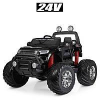 Электромобиль детский джип Monster Truck M 4273ELS-2(24V) | Крашеный корпус, 2 мотора по 35W, MP3, USB