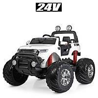 Электромобиль детский джип Monster Truck M 4273EL-1(24V) | 2 мотора по 35W, колеса EVA, MP3, USB
