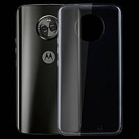 Силиконовый прозрачный чехол для Motorola Moto X4