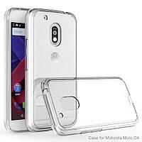 Силиконовый прозрачный тонкий чехол для Motorola Moto G4 Play (XT1602)