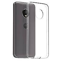 Силиконовый прозрачный тонкий чехол для Motorola Moto G5 Plus (XT1685)