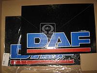 Брызговик 40X60X4 (цветной) с надписью ДAФ (TEMPEST) TP 95.47.48