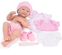 """Пупс """"Новорожденная девочка"""" JC Toys La Newborn"""