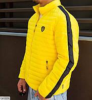 Мужская осенняя стеганая куртка