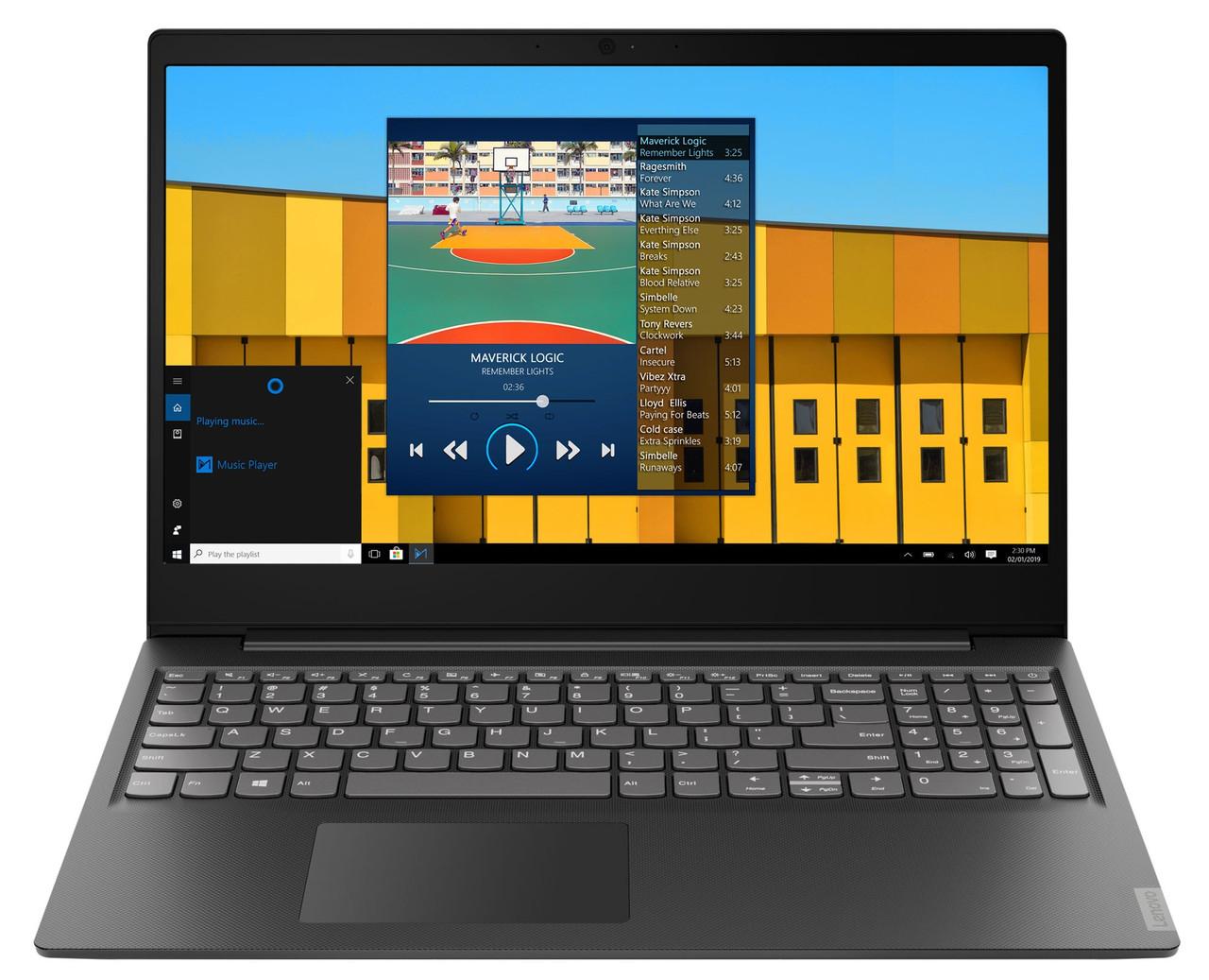 """Ноутбук Lenovo IdeaPad S145-15IKB (81VD007TRA); 15.6"""" FullHD (1920x1080) TN LED матовый / Intel Core i3-8130U (2.2 - 3.4 ГГц) / RAM 8 ГБ / SSD 256 ГБ"""