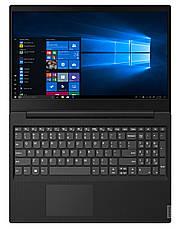 """Ноутбук Lenovo IdeaPad S145-15IKB (81VD007TRA); 15.6"""" FullHD (1920x1080) TN LED матовый / Intel Core i3-8130U (2.2 - 3.4 ГГц) / RAM 8 ГБ / SSD 256 ГБ, фото 3"""