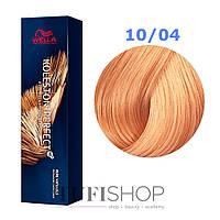 Краска для волос Wella Koleston Perfect № 10/04 (яркий блондин натурально-красный) - pure natur