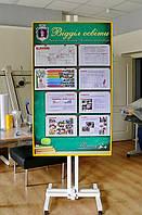 Стенд информационный разборный алюминиевый, фото 1