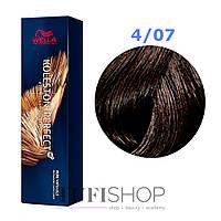 Краска для волос Wella Koleston Perfect № 4/07 (сакура) - pure natura