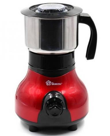 Кофемолка Domotec MS-1108 | Измельчитель с нержавейки 250Вт, фото 2