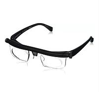 Очки универсальные Dial Vision с регулировкой линз | Для Зрения