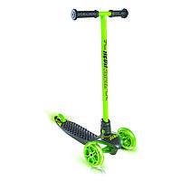 Детский 3х колесный самокат Neon Glider, зеленый (N100965)