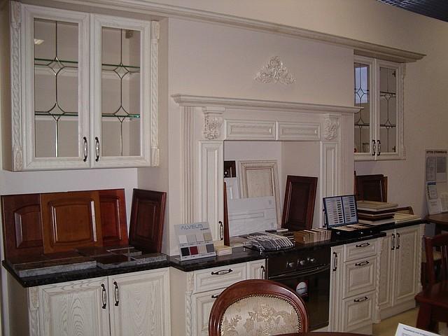 кухни готовые из дерева