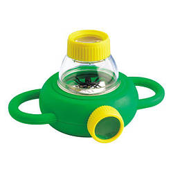 Набор натуралиста Edu-Toys Контейнер для насекомых с лупами 4x 6x (BL010)
