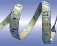 Светодиодная лента 5050 влагозащита IP65 60 светодиодов на 1м БЕЛЫЙ  ТЕПЛЫЙ