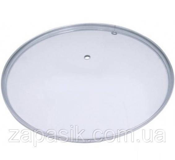 Крышка Стеклянная Для Кухонной Посуды 26 См UN-2206 б/к Прозрачная