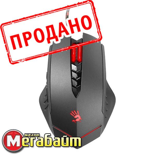 Мышь A4Tech V8M Bloody черная USB V-Track