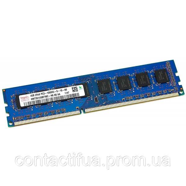 Оперативна пам'ять Hynix DDR3 4Gb 1333MHz PC3-10600 (HMT351U6BFR8C-H9)