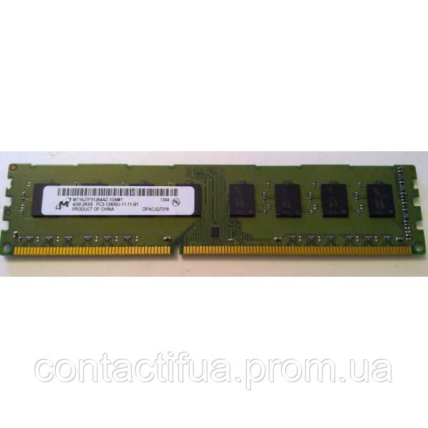Оперативна пам'ять Micron DDR3 4Gb 1600MHz PC3 12800 (MT16JTF51264AZ-1