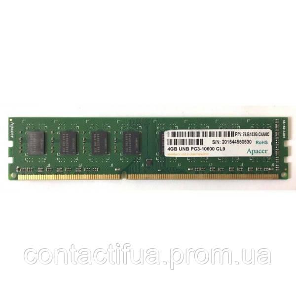 Оперативна пам'ять Apacer DDR3 4Gb 1333MHz PC3-10600 (DL.04G2J.K9M)