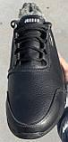 Jordan! Мужские зимние кожаные кроссовки 46,47,48,49,50, фото 2