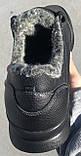 Jordan! Мужские зимние кожаные кроссовки 46,47,48,49,50, фото 3