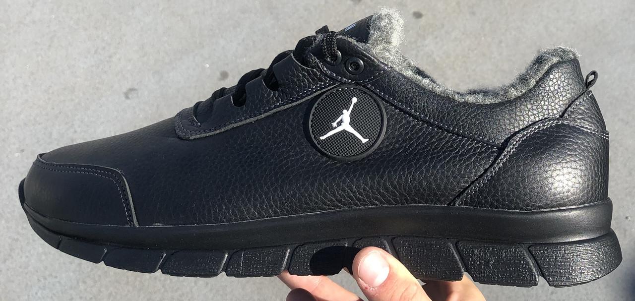 Jordan! Мужские зимние кожаные кроссовки 46,47,48,49,50
