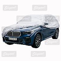 Тент автомобильный чехол на Джип XL ELEGANT 100273 без основы 510x195x155 +сумка, карманы зеркал, замок