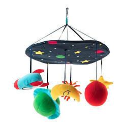 ИКЕА (IKEA) KLAPPA, 503.726.15, Детская карусель, разноцветный - ТОП ПРОДАЖ