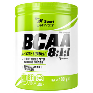BCAA Sport Definition BCAA Leucine Loaded 8:1:1, 400 грамм Арбуз