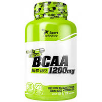 BCAA Sport Definition BCAA Mega Dose 1200 mg, 120 капсул