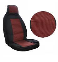 Авто чехлы на сидения ВАЗ 2107 модельные черно-красные Tuning NEW