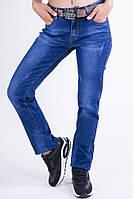Джинсы женские  54P5813 цвет Темно-синий