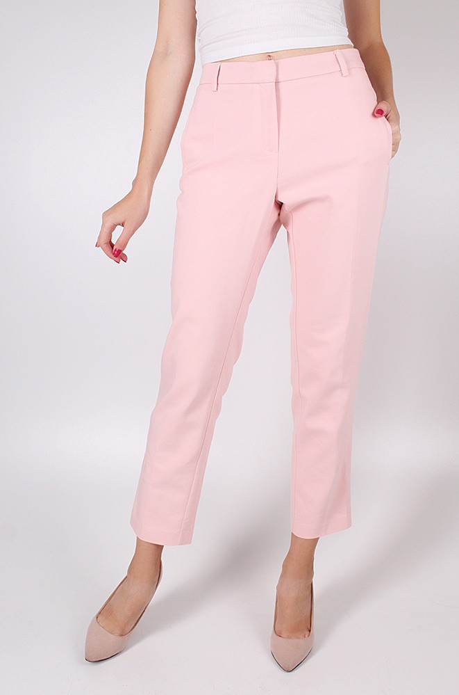 Брюки женские розовые размер L 2804