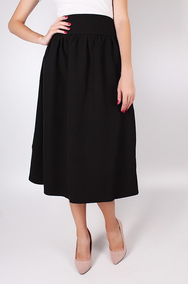 Юбка женская черная TRG 2806
