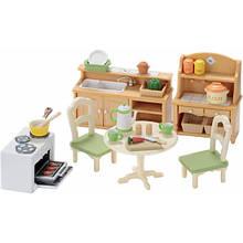 Sylvanian Families Calico Critters 5033 Дачная кухня большая Country Kitchen Set