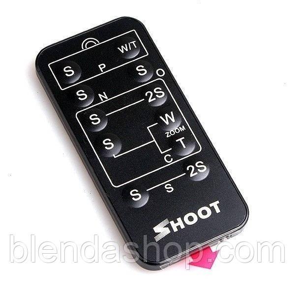 Универсальный инфракрасный пульт ДУ SHOOT для фотоаппаратов CANON, NIKON, SONY, PANASONIC (LEICA), PENTAX